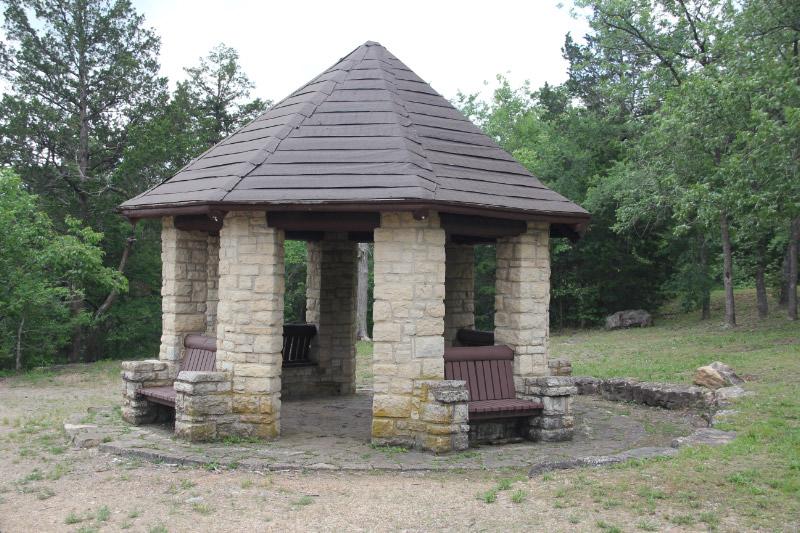 Washnigton State Park, De Soto, MO CCC Shelter