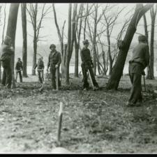 CCC boys on Theodore Roosevelt Island - Washington DC