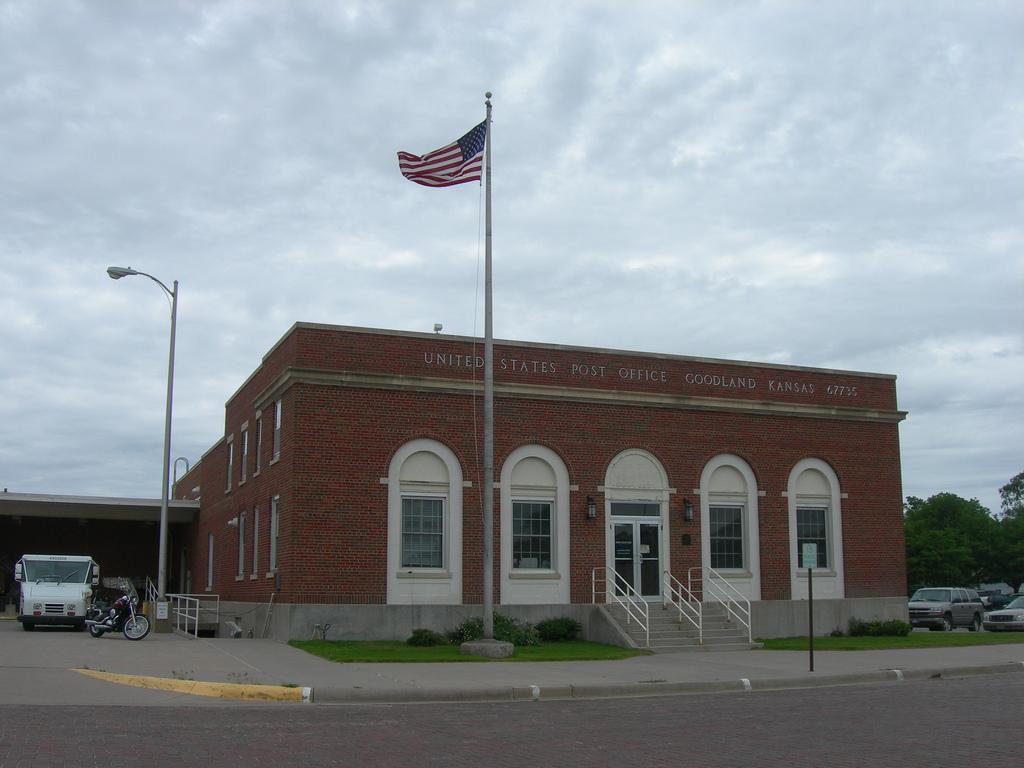 Goodland Kansas Post Office