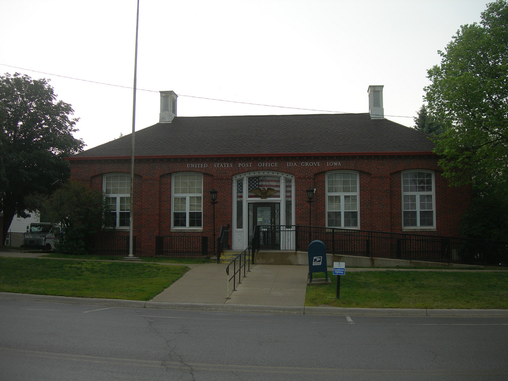 Ida Grove Iowa Post Office