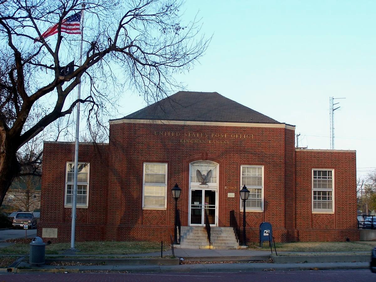 Kingman Kansas Post Office