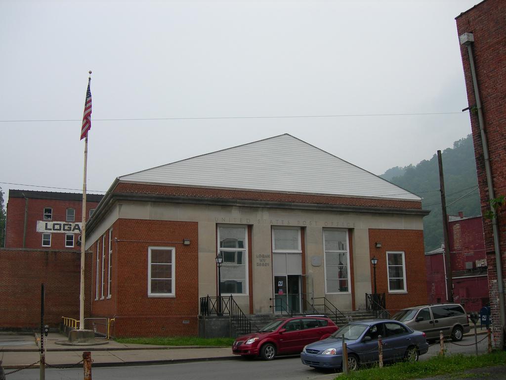Logan West Virginia Post Office