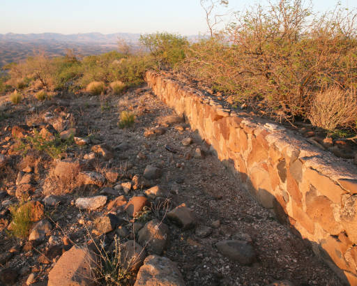 Upper Gila River Valley CCC Wall