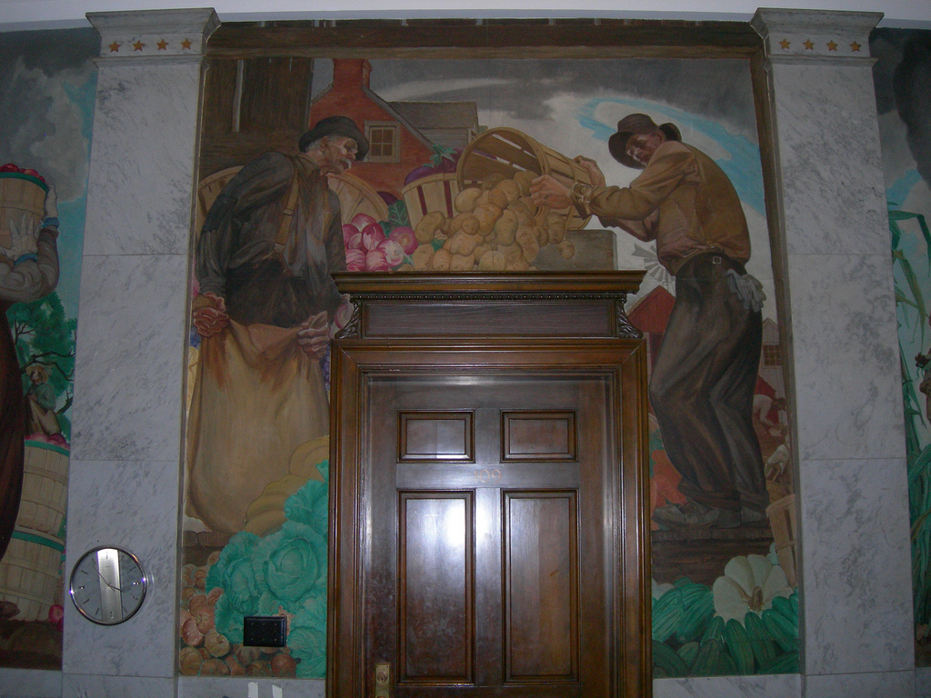 William D. White Mural Panel 2