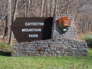 Catoctin Mountain Park Entrance Sign