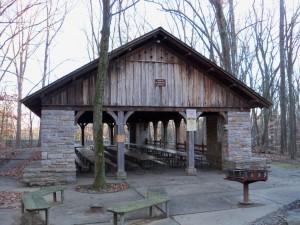 Cunningham Falls State Park CCC Pavilion