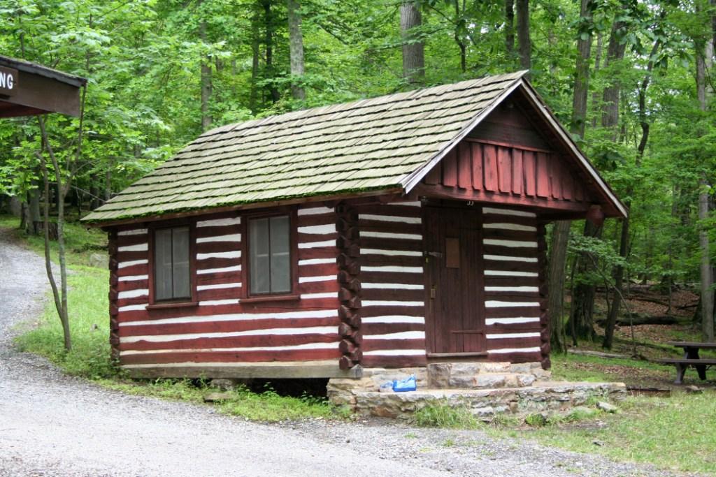 WPA Built Cabin 33 - Camp Misty Mount