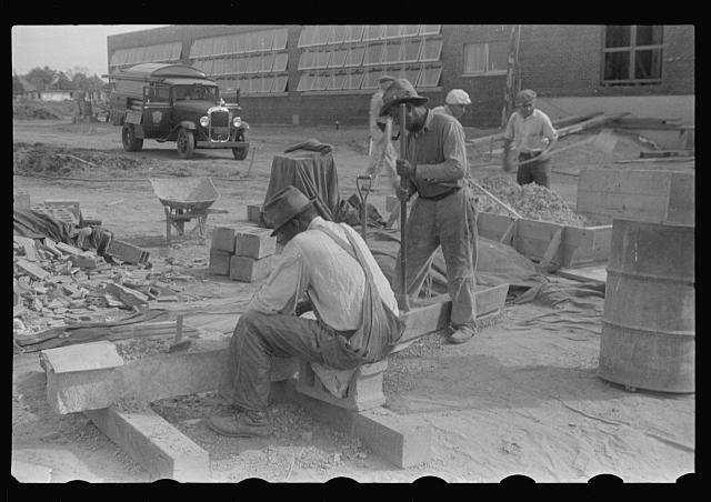 Ben Shahn Mural Preparation 1936