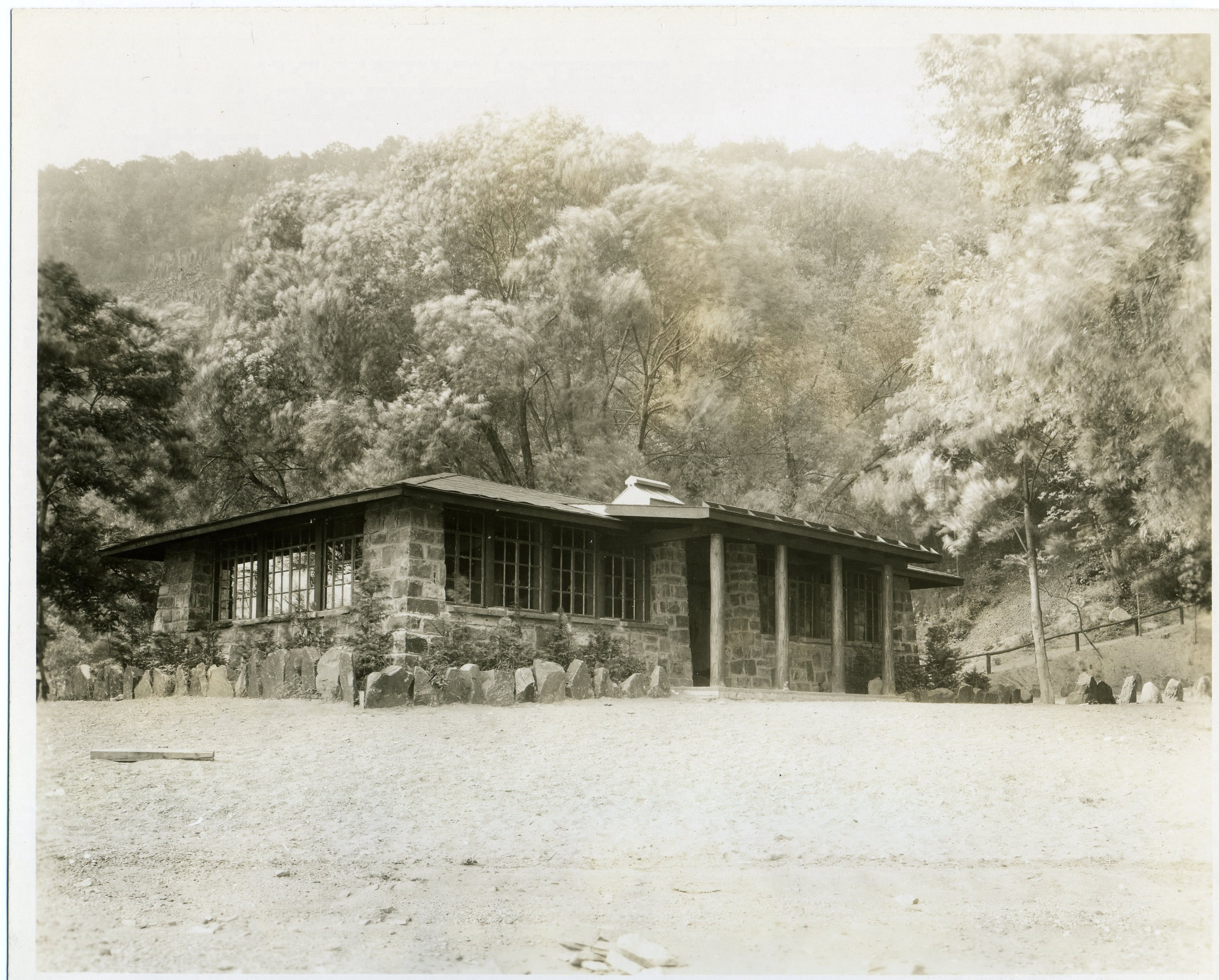 CCC Building at the Palisades Park 3