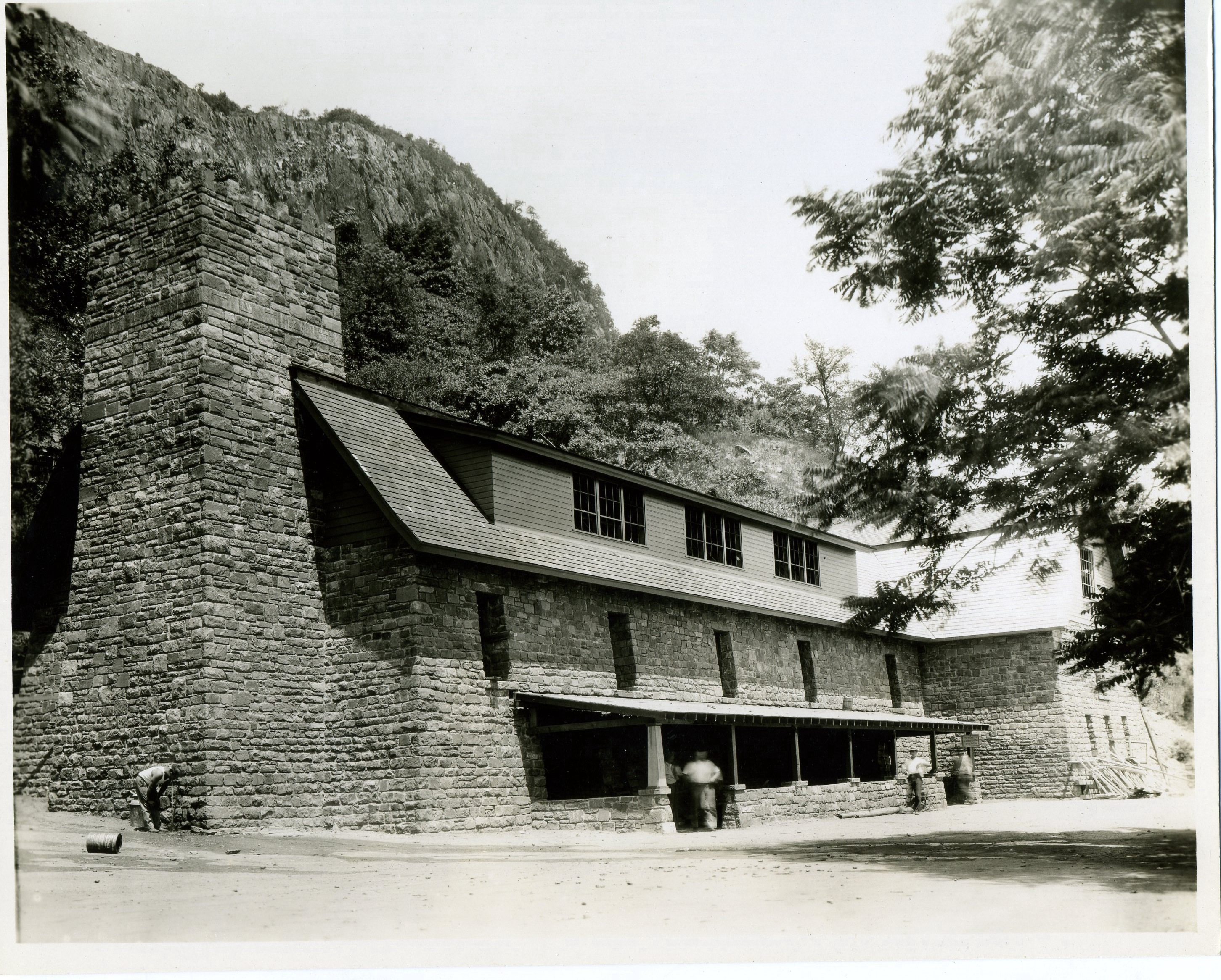 CCC Building at the Palisades Park 4