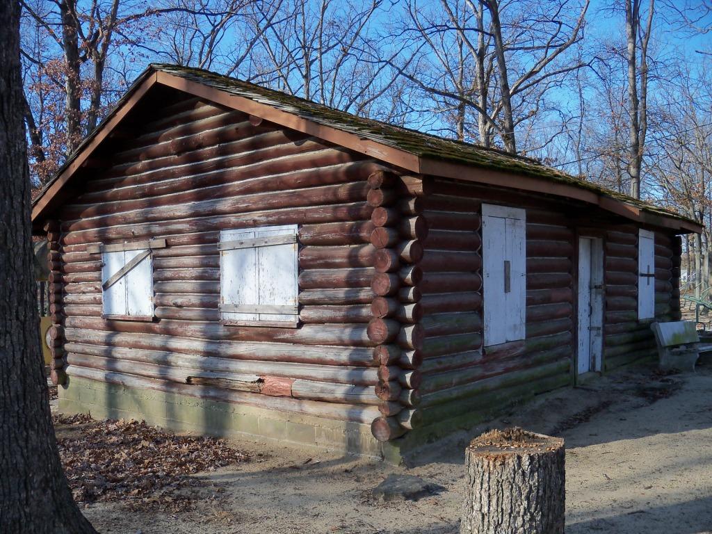 Chambers Park NYA Log Cabin