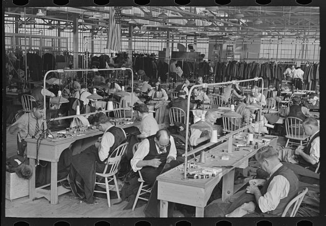 Garment Factory Workers 1936