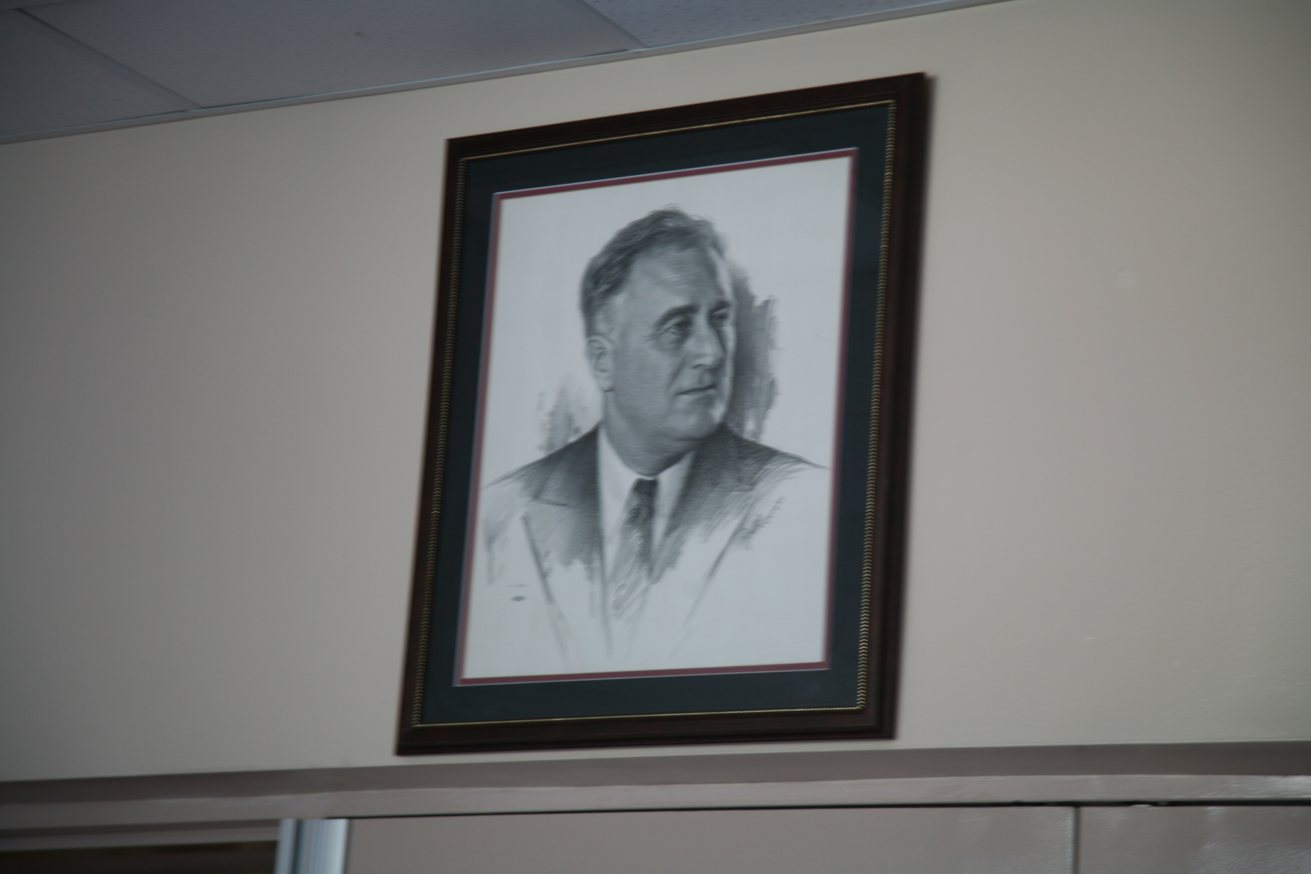 Roosevelt School FDR Portrait