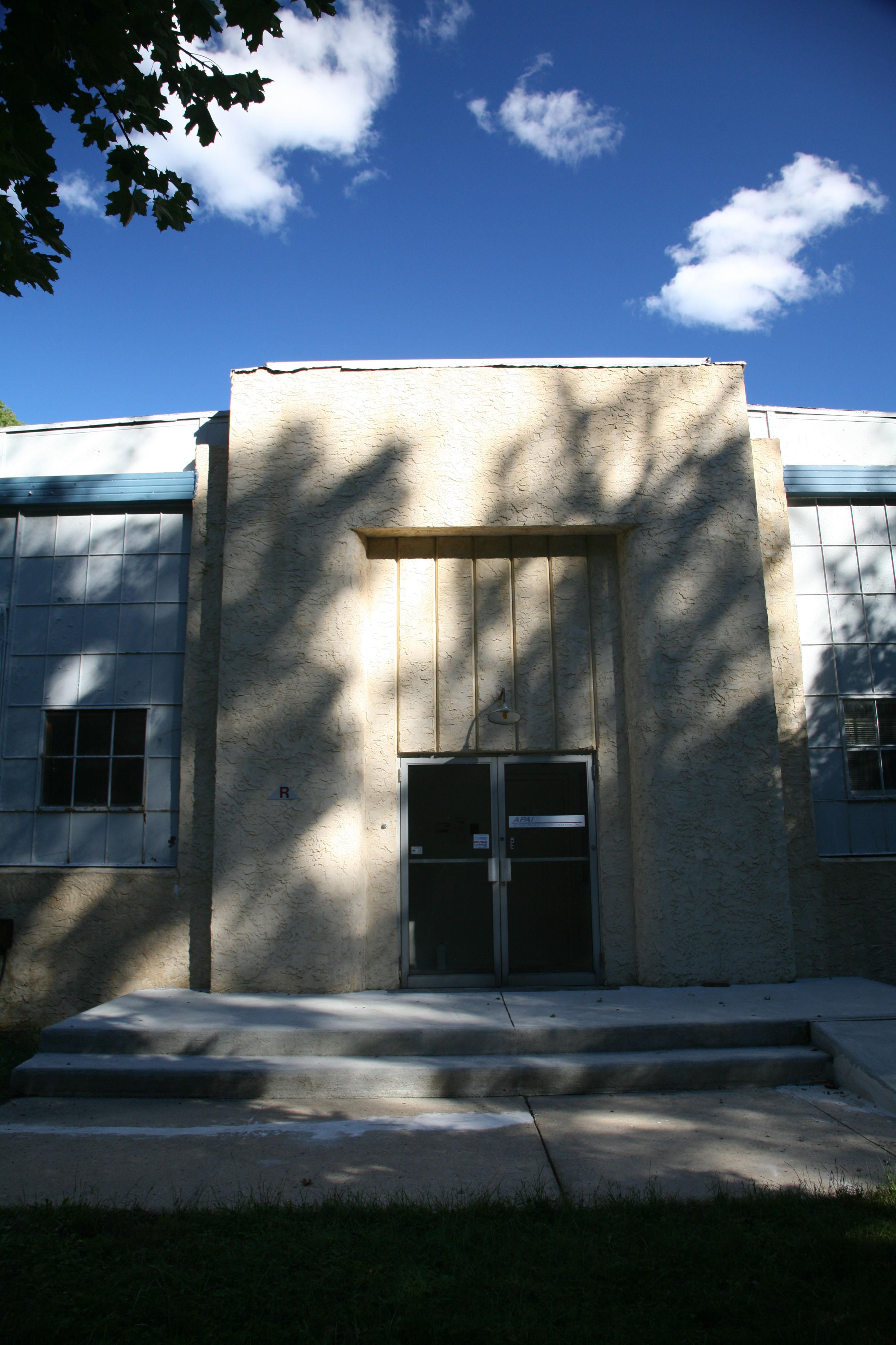 Roosevelt Factory Entrance