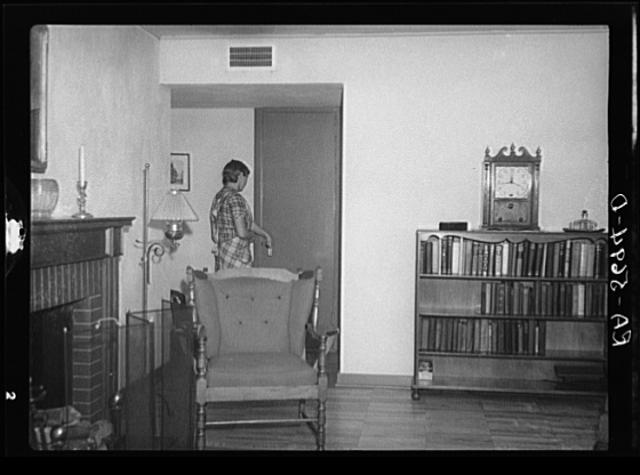 Interior of a New Jersey Homesteads House