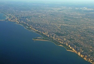 Lincoln Park Aerial View