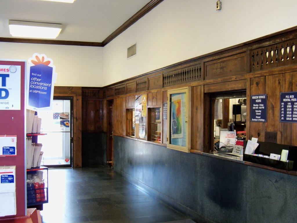 Luray Post Office Interior