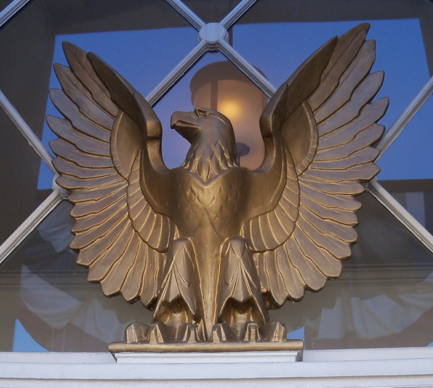 Oakland Maryland Post Office Eagle