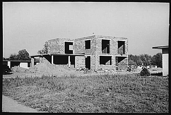 Roosevelt New Jersey Two Story Homes Under Construction