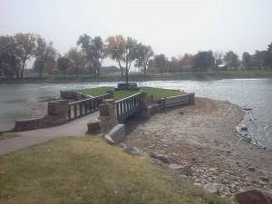Sterling Lake Park and Arch Bridge