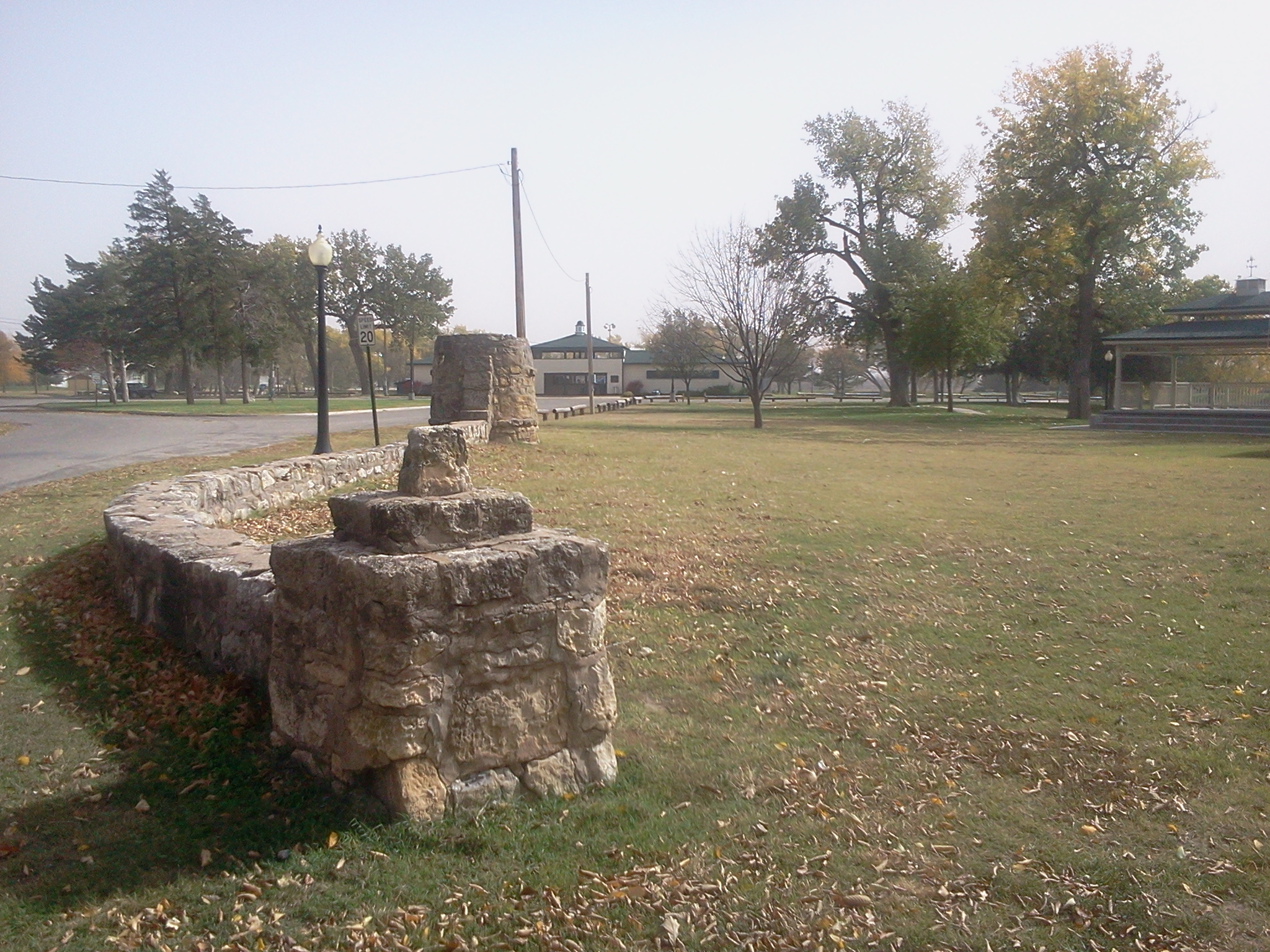 Sterling Park Rock Wall