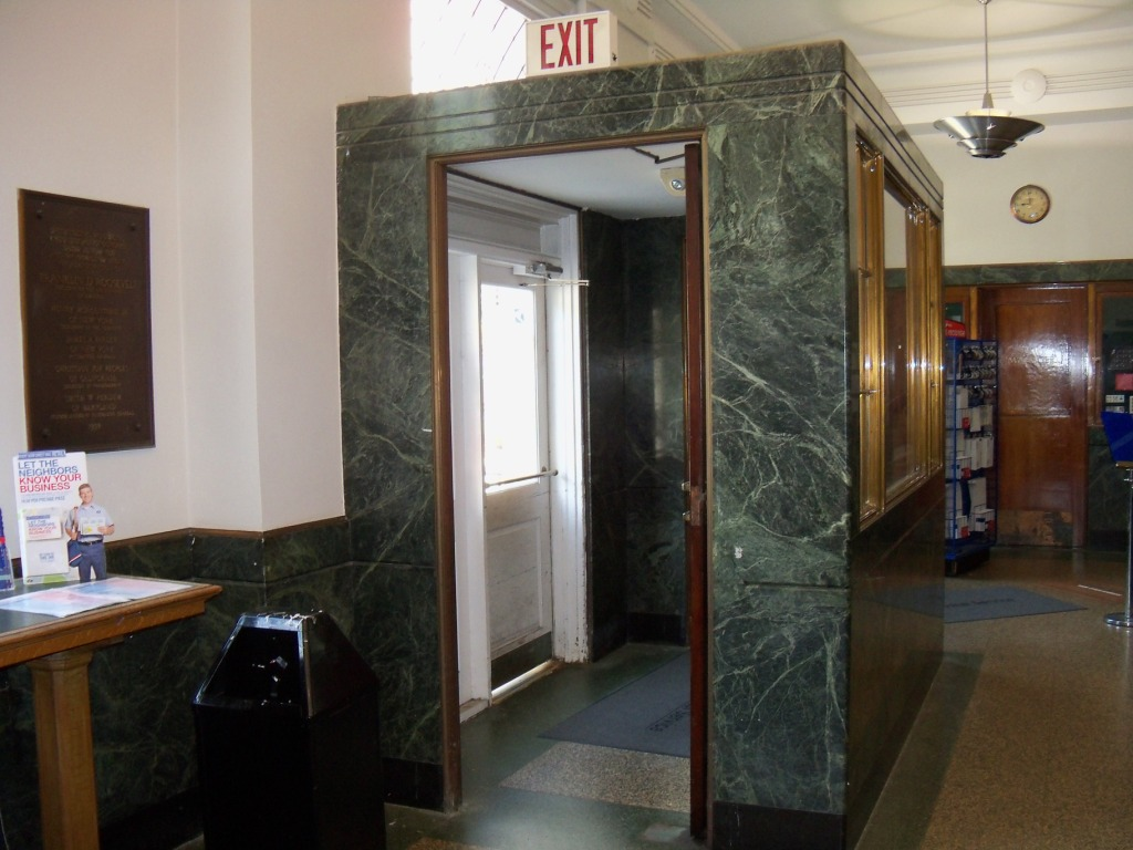 Towson Maryland Post Office Lobby