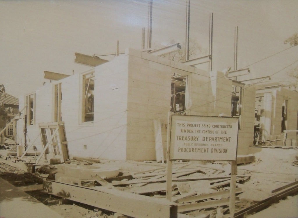Towson Maryland Post Office Under Construction