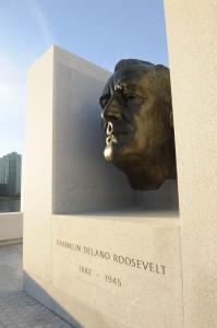 Bronze bust of FDR by American portrait sculptor Jo Davidson