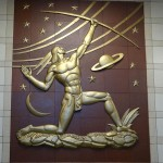 Canal Street Post Office Sculpture