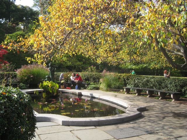 Central Park Conservatory Garden New York Ny Living