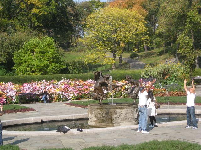 Central Park Conservatory Garden New York NY Living New Deal