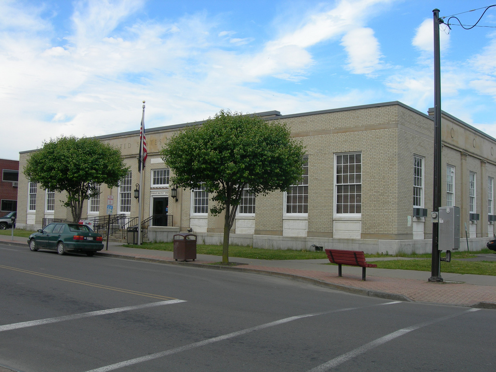 Endicott New York Post Office