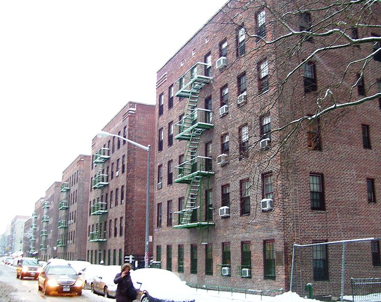 First Houses Public Housing Project New York Ny Living