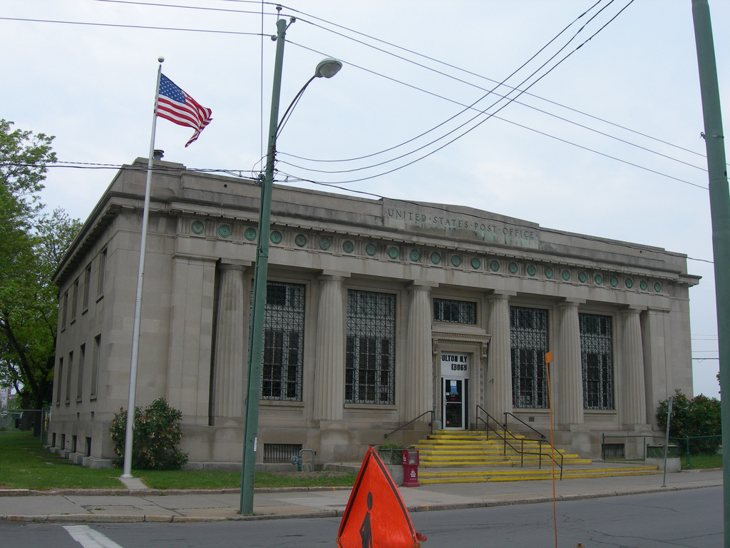 Fulton New York Post Office