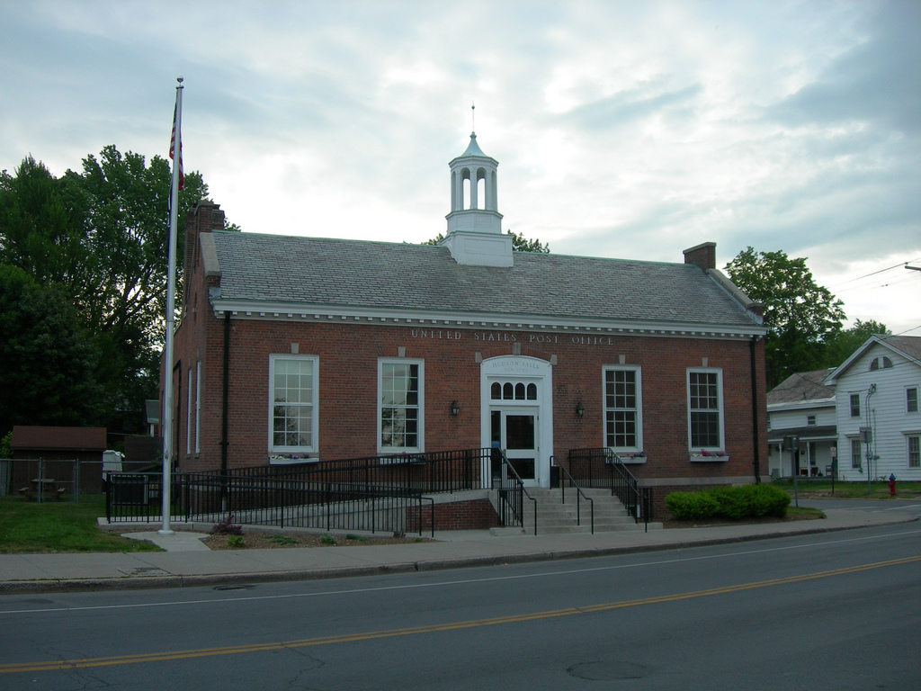 Hudson Falls New York Post Office