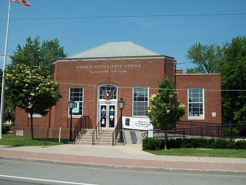 Middleport New York Post Office