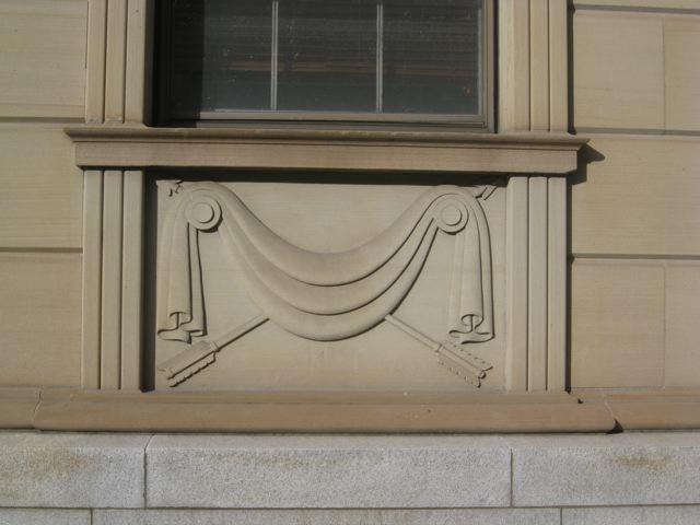 Troy Post Office Building Ornamentation