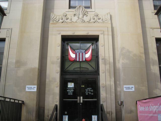 Troy Post Office Entrance