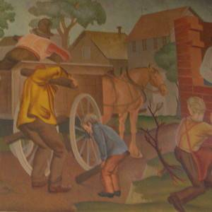 Post Office Mural – Batesville IN