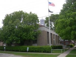 Abingdon IL Post Office