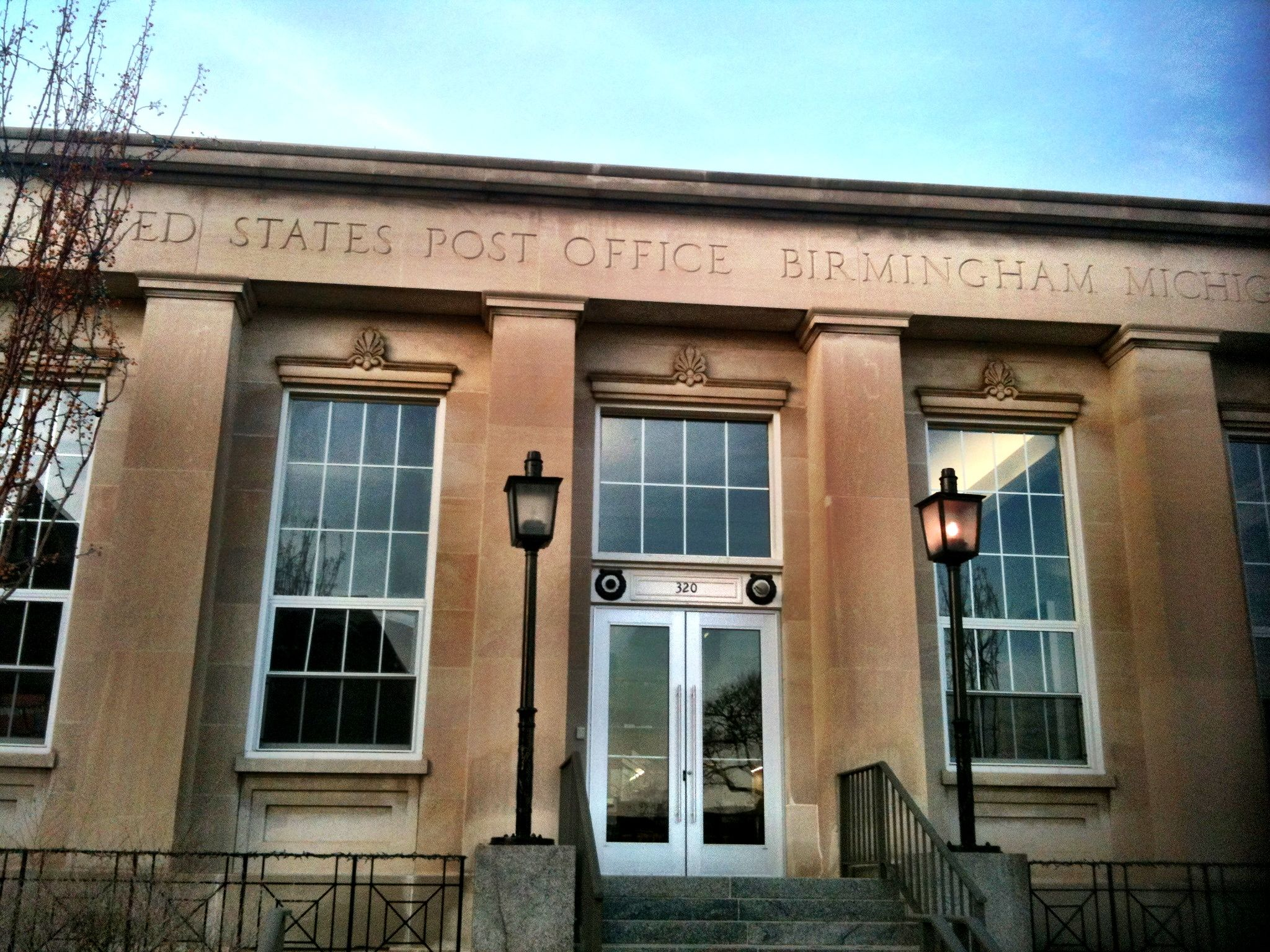 Birmingham Michigan Old Post Office