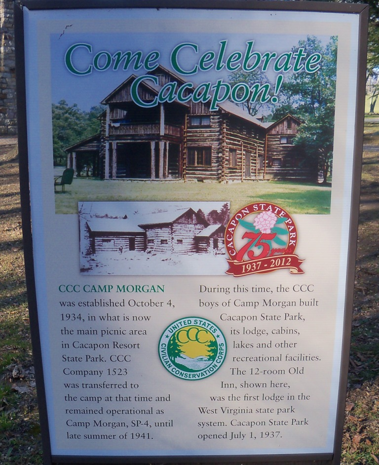 Cacapon State Park CCC Description