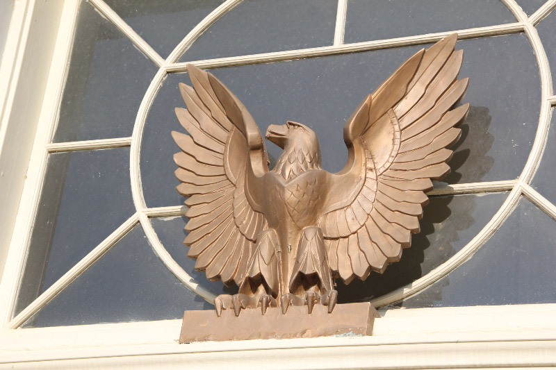 Clinton, MO Post Office, Eagle