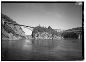 Deception Pass and Canoe Pass Bridges