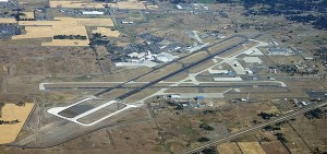 Spokane International Airport Aerial View