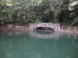 El Yunque National Forest, El Baño Grande Stone Bridge