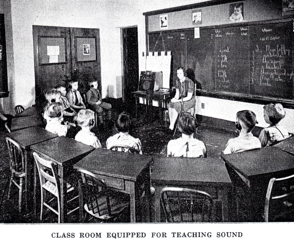 Children in 1930s Class