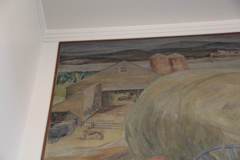 """Haymaking"" Detail"