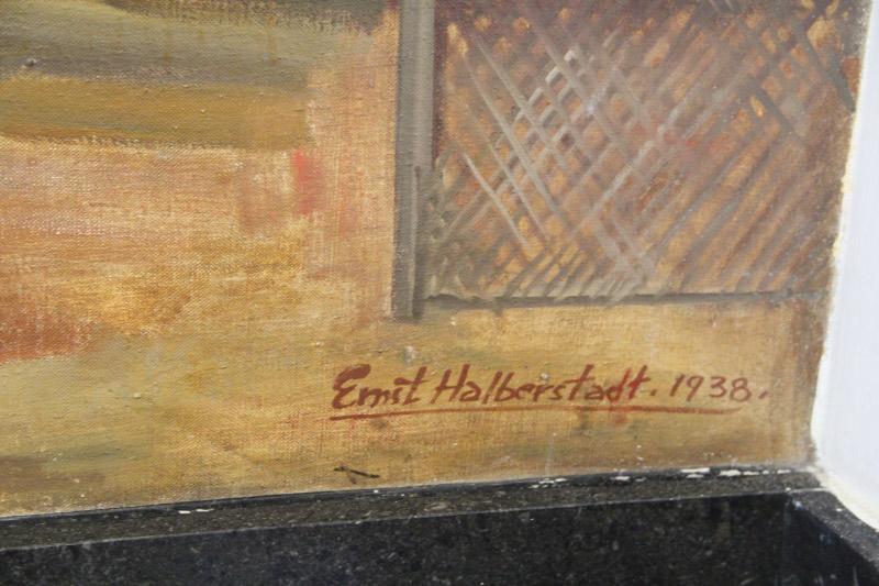 """History of Chicopee Falls"" Artist's Signature"