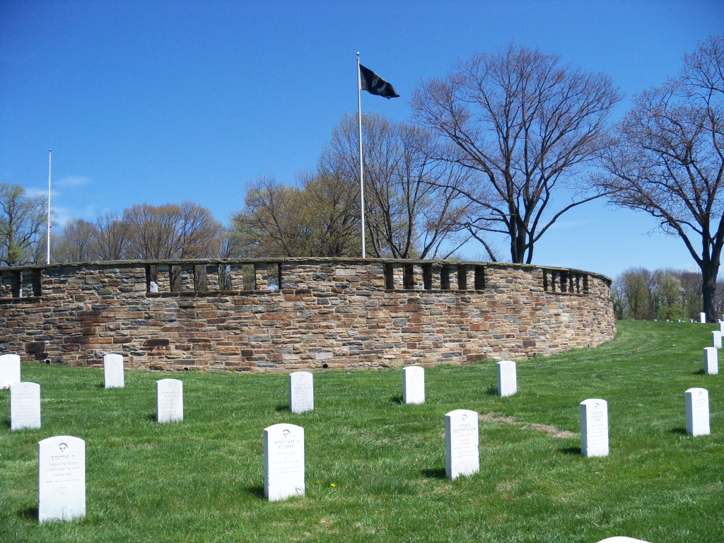 Rostrum at Baltimore National Cemetery